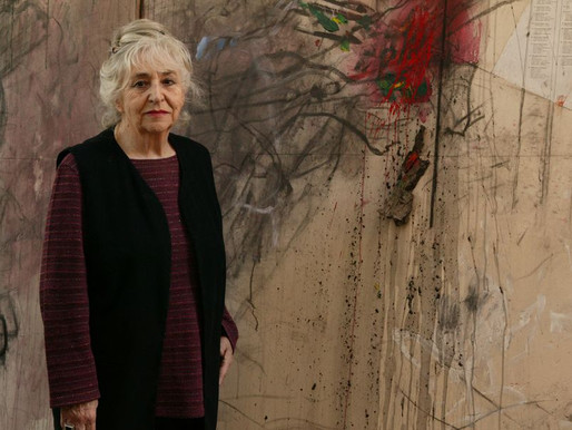 Falece aos 92 anos, Gracia Barrios, o Prêmio Nacional de Artes Plásticas de 2011