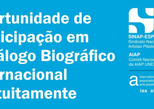 Artistas visuais podem participar de Catálogo Biográfico Internacional gratuitamente