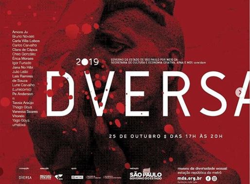 Museu da Diversidade Sexual abre sua 3° Mostra Diversa