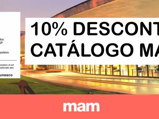 Desconto nos catálogos MAM para associados SINAP-ESP/AIAP