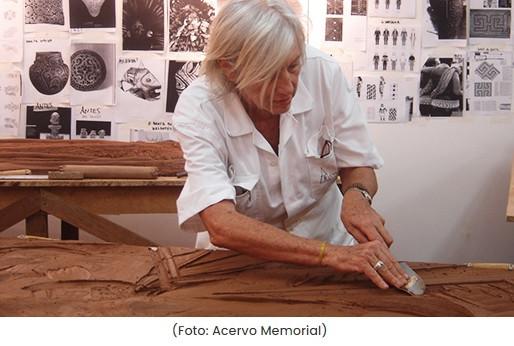 Memorial promove live com Maria Bonomi no projeto Sexta Latina