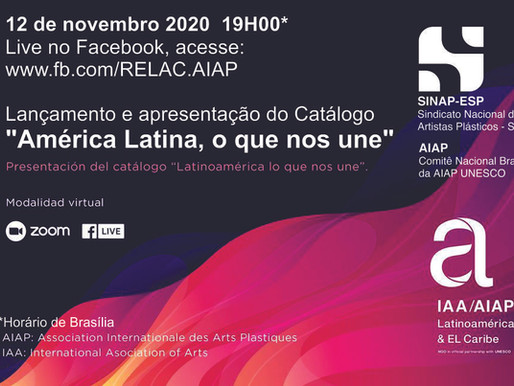 """Hoje: lançamento do catálogo """"América Latina, o que nos une"""""""