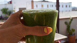 Healthy Green Morning Smoothie