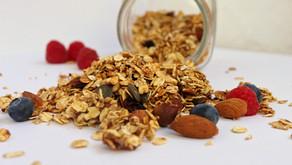 Healthy Homemade Granola w/o added sugars or oils