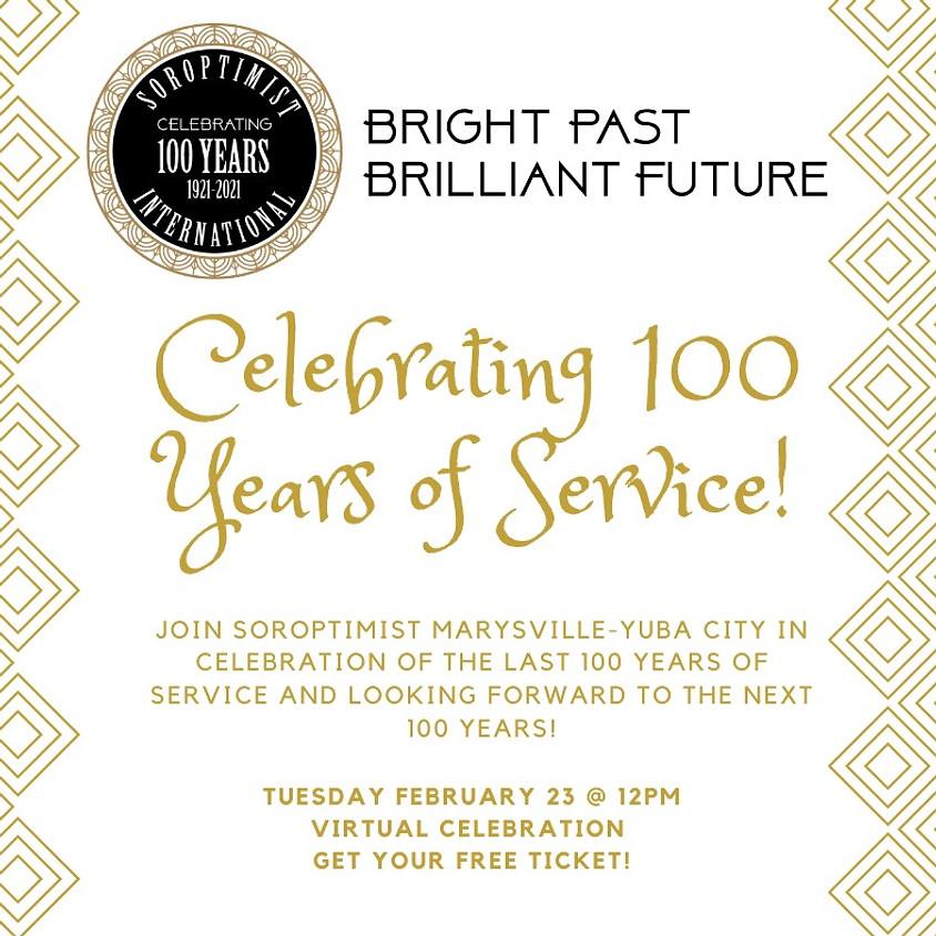 Soroptimist 100 Year Celebration
