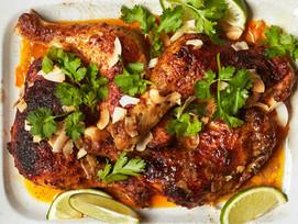 #Receta: pollo con leche de coco y curry