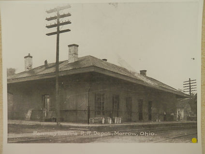 """Pennsylvania R.R. Depot, Morrow, Ohio"""