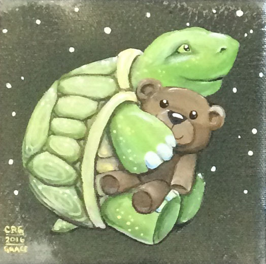 Turtle Loves Teddy