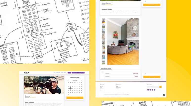 Crooked Smile Agency Web Design & Brand Identity