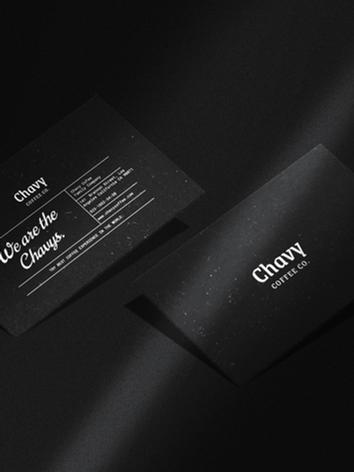 Chavy Coffee - Brand Identity & Design