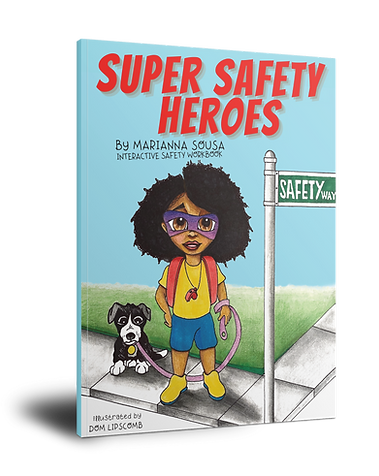 Super Safety Heroes clickable book to order from Amazon