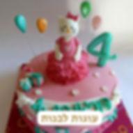 עוגות לבנות מבצק סוכר