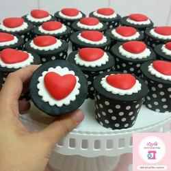 Heart-cupcakes