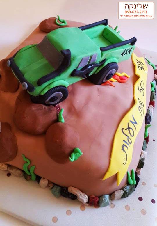 A-jeep-cake