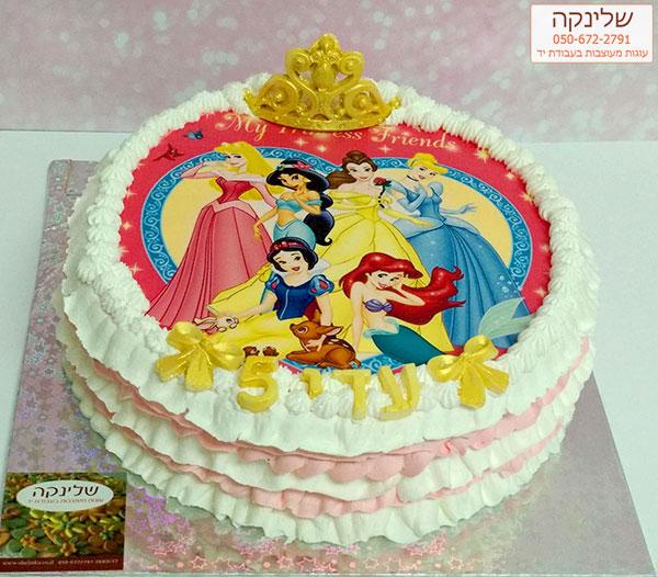 עוגות נסיכות דיסני