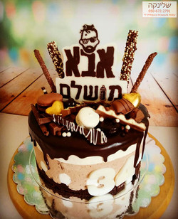 עוגת אבא פגום