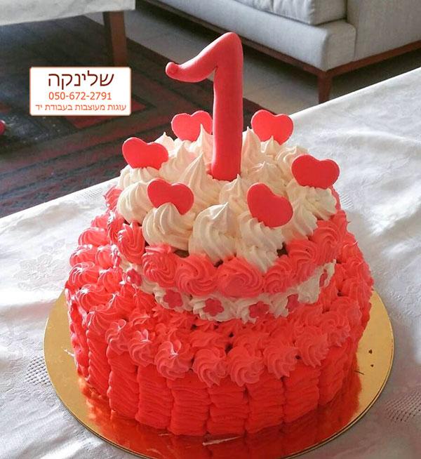 עוגת מספר