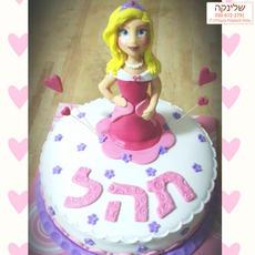 עוגת יום הולדת נסיכה