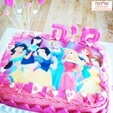 עוגת נסיכה דיסני