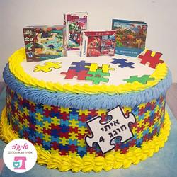 Puzzle-cake