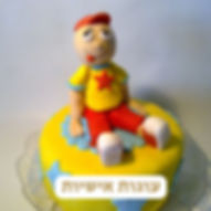 עוגות בצק סוכר אישיות