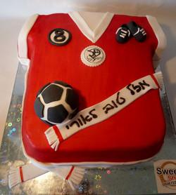עוגת הפועל כדורגל