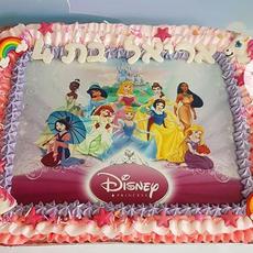 עוגת נסיכות דיסני