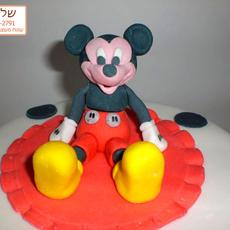 פיסול עוגת מיקי מאוס