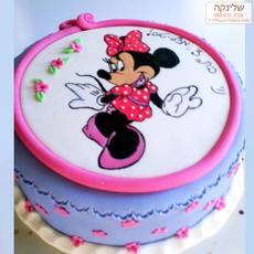 עוגת מיני מאוס מצויירת