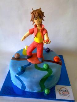 bakugan-cake