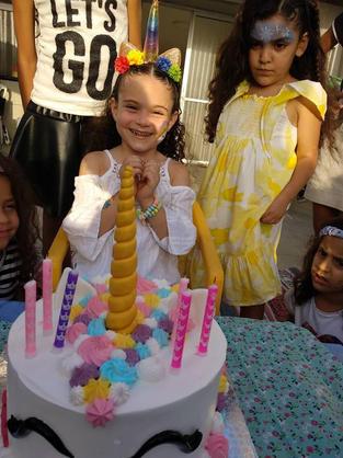 עוגות יום הולדת חד קרן