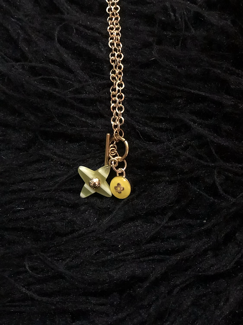 Toggle LV necklace