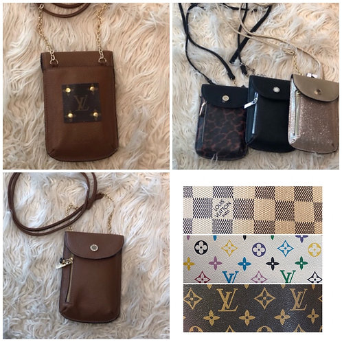 Phone wallet/credit card holder crossbody