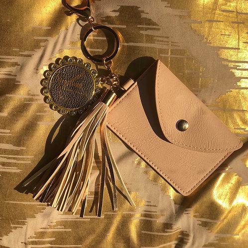 LV credit card keychain