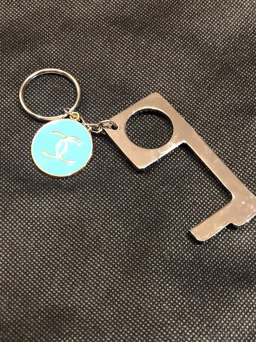 Door opener/keychain