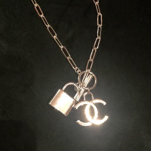 SILVER-CC necklace