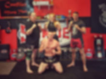 The Team at Conflict Muay Thai