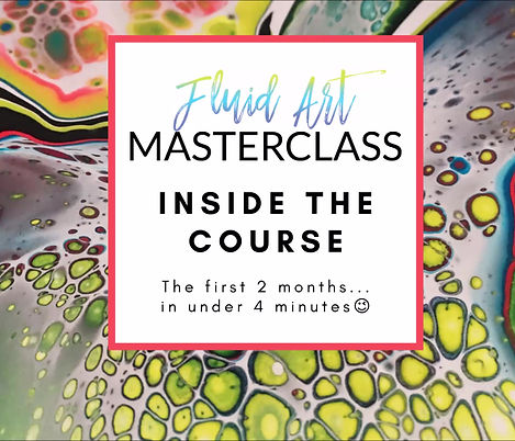 What's waiting for you inside FLUID ART MASTERCLASS - SOUND ON!