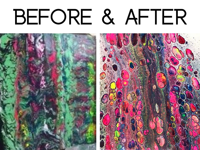 Stop wasting time and money in paint pouring