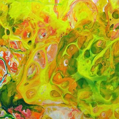 Lemon & Lime Vine - Fine Art Print
