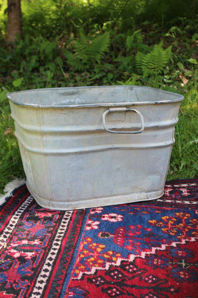 GALVANIZED TUB - $5 each