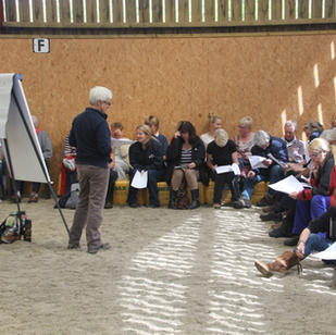 Workshop at Moorcroft Equine Rehabilitation