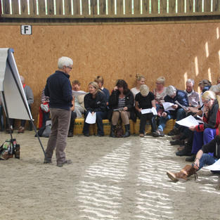Workshop at Moorcroft Equine Rehabilitation