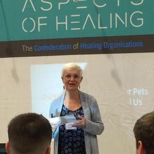 Speaking at the Mind Body Spirit Festival, Birmingham