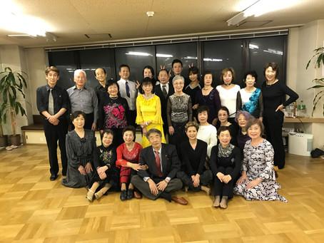 佐々木ダンス教授所の新年会