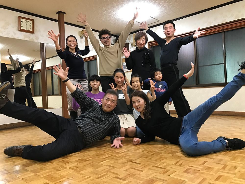 佐々木ダンス小林先生が来た!②