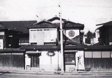 開設当時の佐々木ダンス教授所