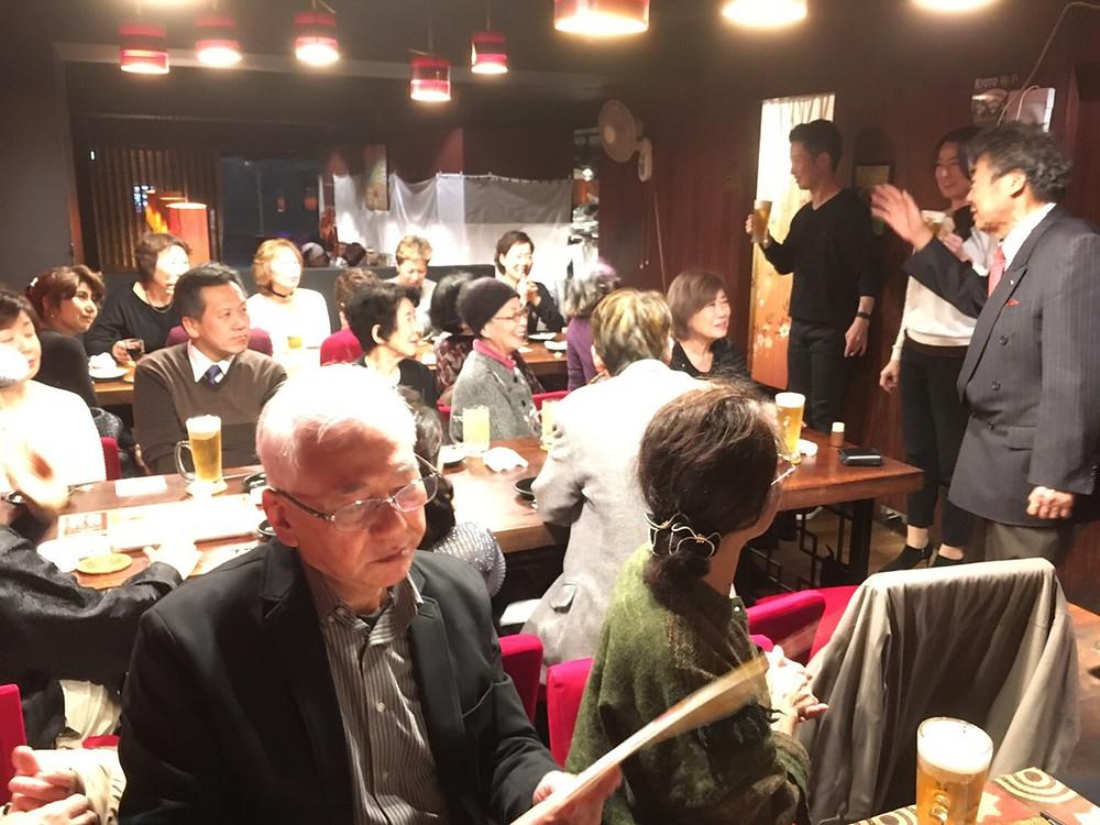 佐々木ダンス新年会・食事会