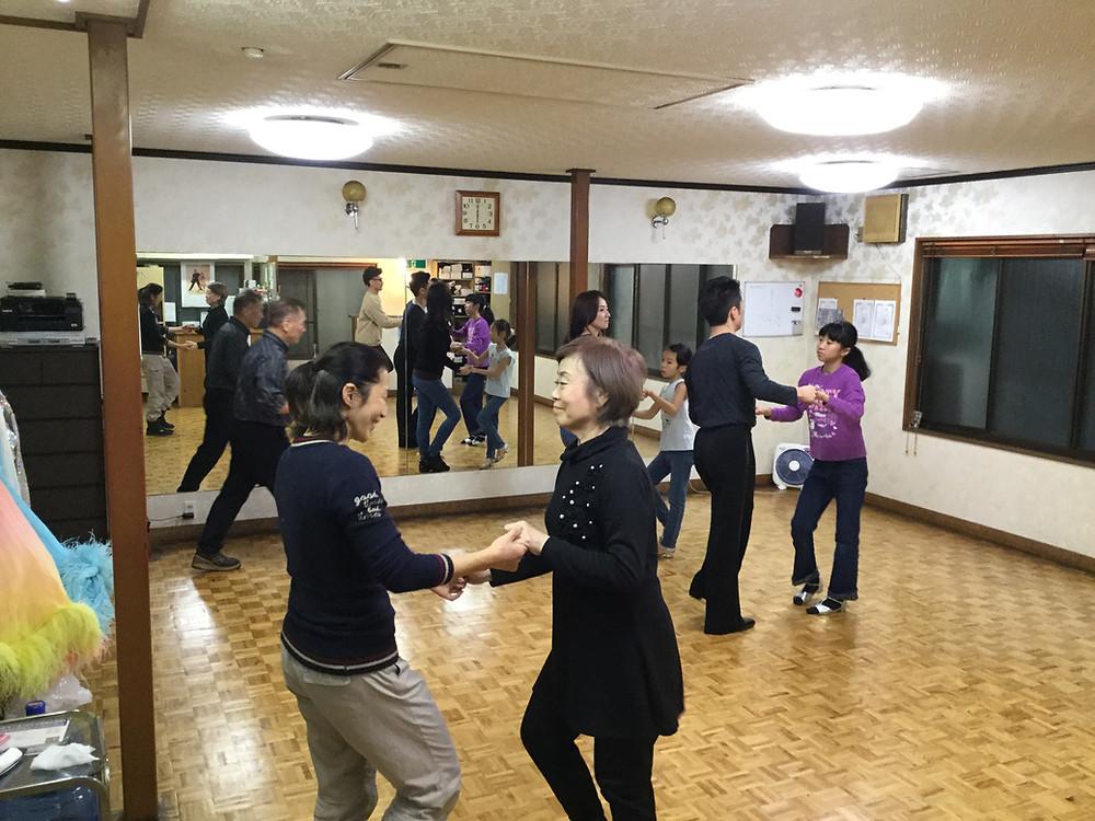 佐々木ダンスに小林先生が来てくれた!①