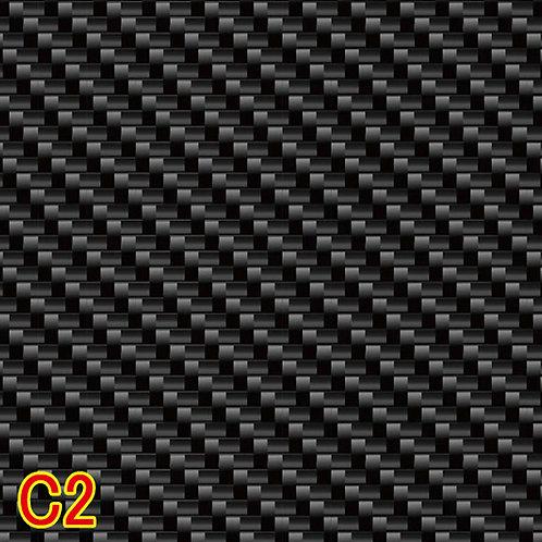 C2 カーボン柄フィルム